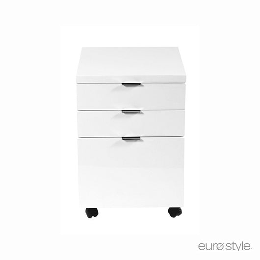 Euro Style Gilbert File Cabinet - Set of 2