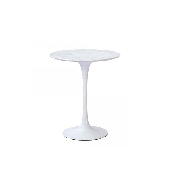 Stilnovo Marble Tulip Side Table 20""