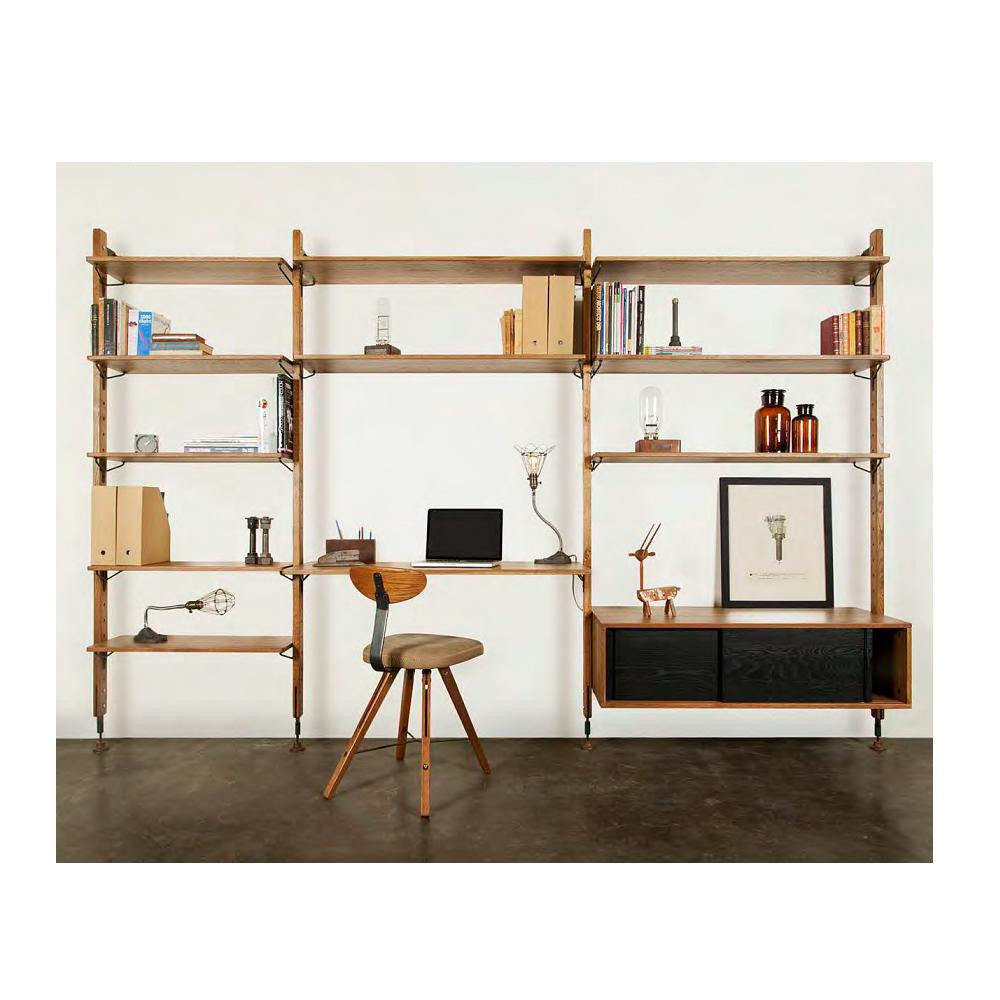 Strange Nuevo Theo Wall Unit With Shelves Home Interior And Landscaping Spoatsignezvosmurscom
