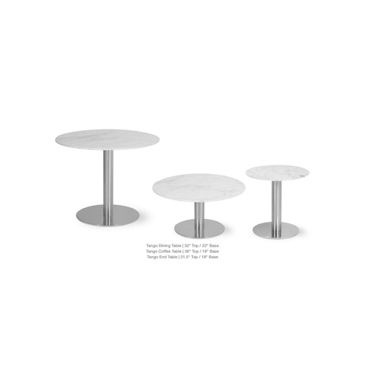 Tango Lounge Table - Marble