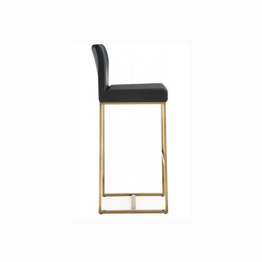 TOV Denmark Gold Bar Stool - set of 2