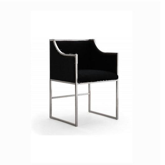TOV Atara Dining Chair - Silver