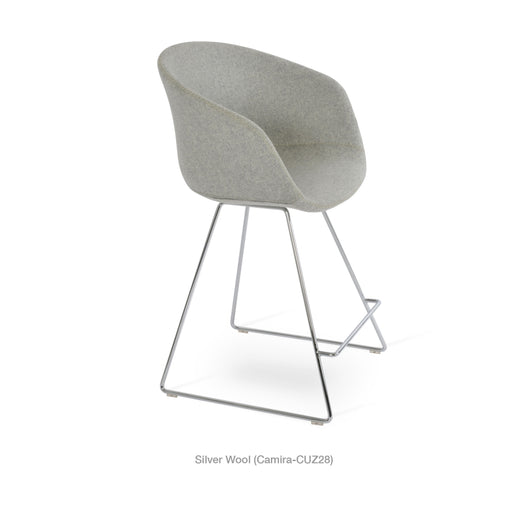 Sohoconcept Tribeca Wire Counter Stool