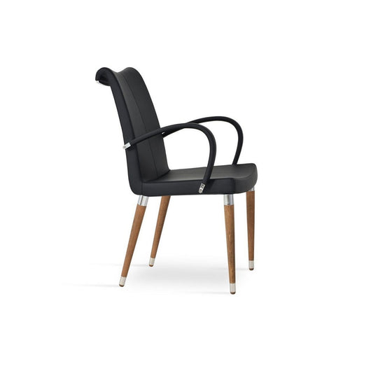 Sohoconcept Tulip Wood Dining Chair - With Arms