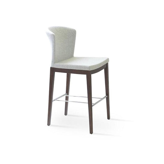 Sohoconcept Capri Wood Counter Stool