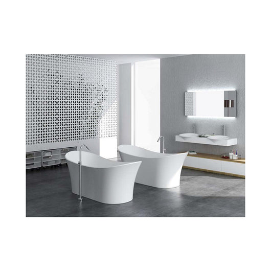 Control Brand Cloud True Solid Surface Soaking Tub