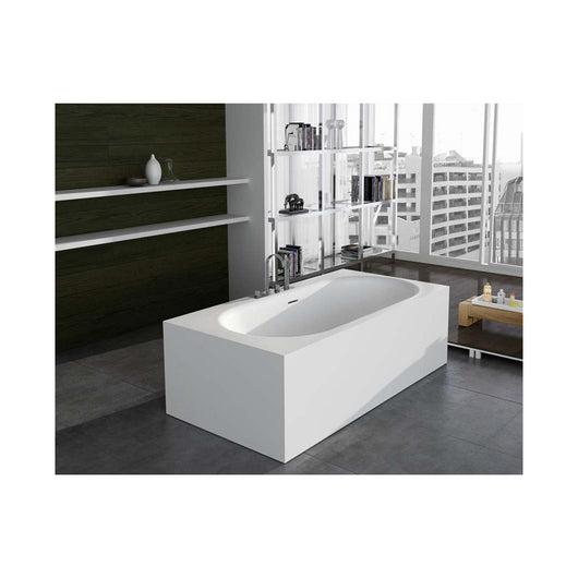 Control Brand Zenith True Solid Surface Soaking Tub