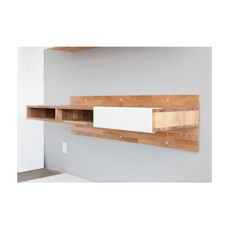 Mashstudios lax series wall desk 2bmod for Lax wall mounted desk