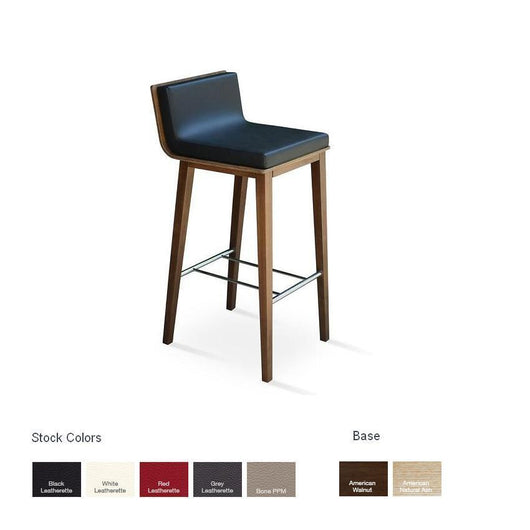 Sohoconcept Corona Bar Stool - Wood
