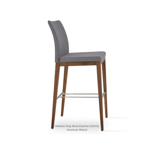Sohoconcept Zeyno Wood Bar Stool
