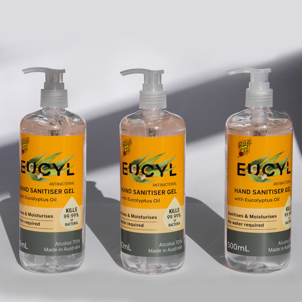 EUCYL Antibacterial Hand Sanitiser 500ml 3 pack
