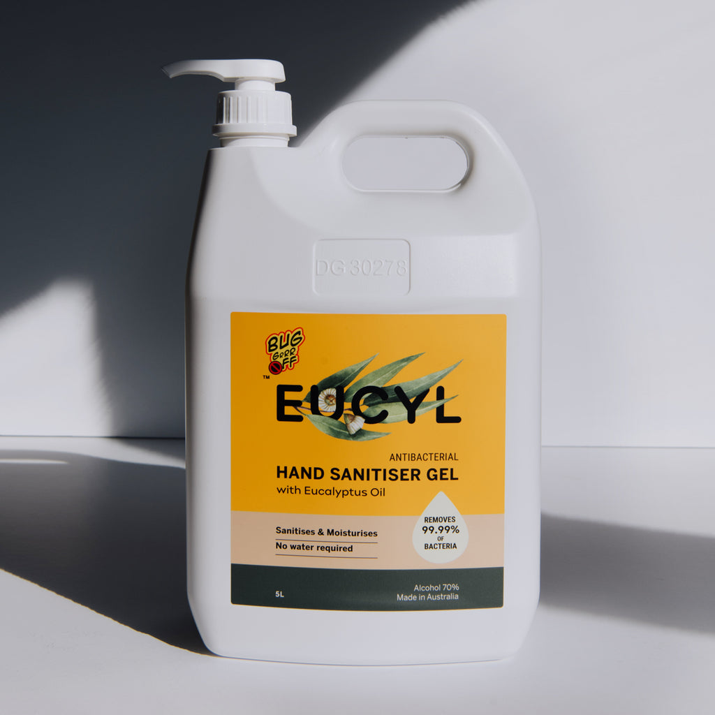 EUCYL Antibacterial Hand Sanitiser 5L Jerry