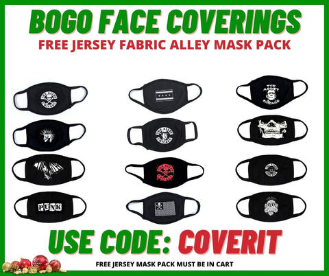 Free Jersey Mask 2 pack