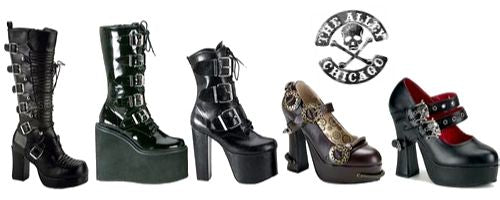 Goth Footwear | The Alley