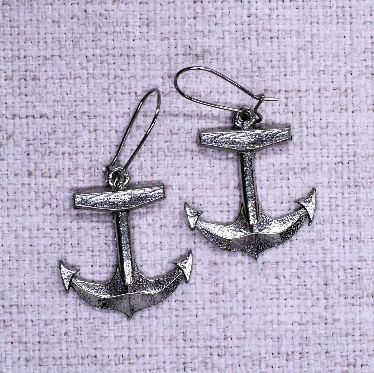 Boat Anchor Ear Rings