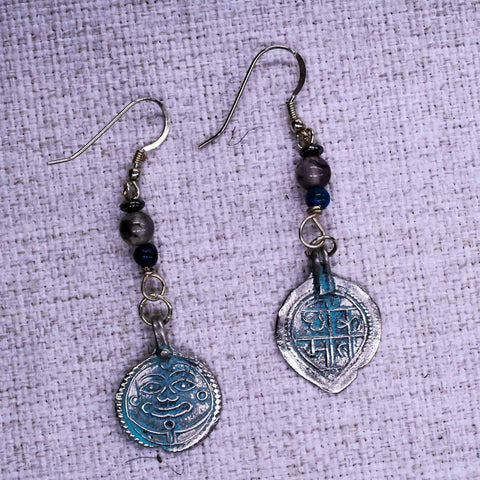 Ancient Ornate Ear Rings