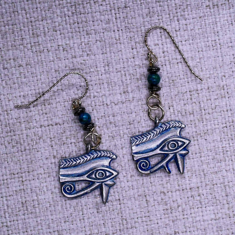 Eye of Horus Ear Rings