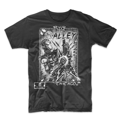 The Alley Chicago Robot T-shirt