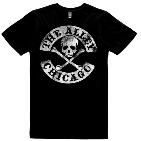 The Alley Vintage Skull and Bones Tshirt