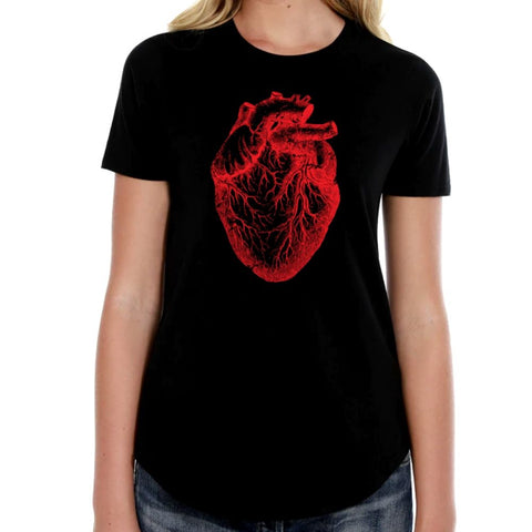 The Alley BIG Heart Womens Tshirt