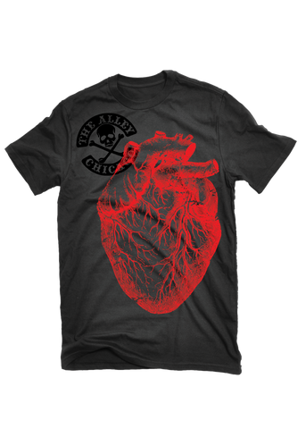 The Alley Chicago Big Ol' Heart T-shirt - The Alley Chicago
