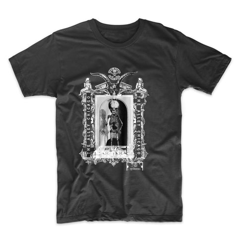 The Alley Chicago Gothic Frame Skeleton T-shirt