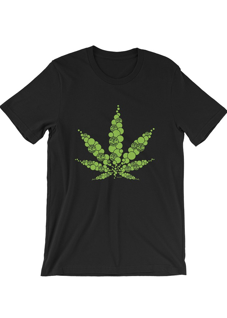The Alley Bubble Pot Leaf Tshirt