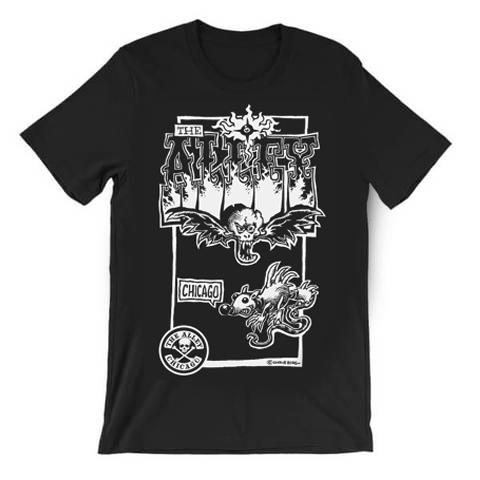 The Alley Chicago Chris Berg Rat Skull T-shirt
