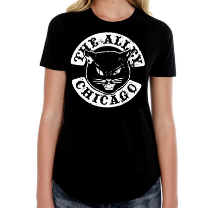 The Alley Black Cat Womens Tshirt