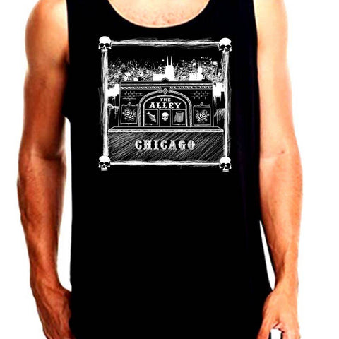 The Alley Terracotta Storefront Tank Top