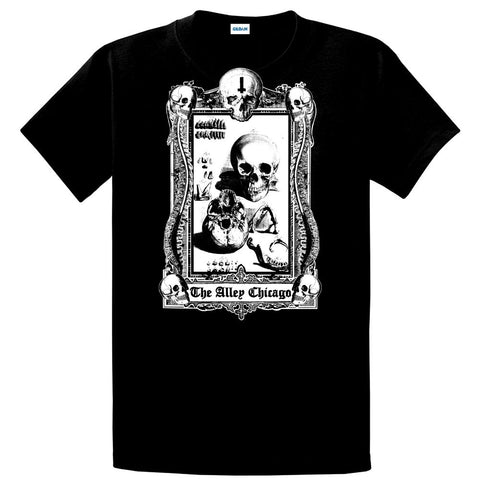 The Alley Inverted Cross Gothic Frame Tshirt