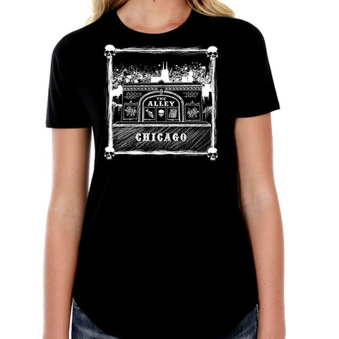 The Alley Classic Storefront Womens Tshirt