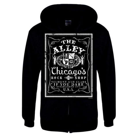 The Alley Chicago Rock Shop Hoodie