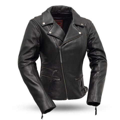 Womens Leather Jacket-Monte Carlo