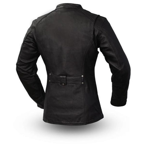Madame X Womens Leather Motorcycle Jacket | The Alley
