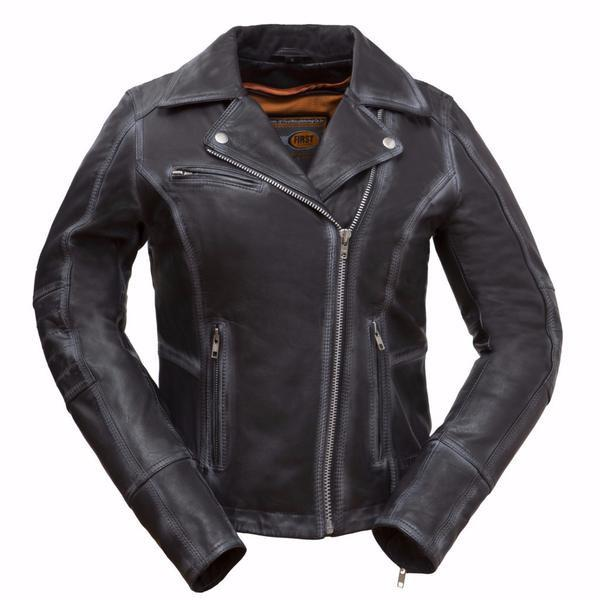 The Arcadia Womens Leather Motorcycle Jacket | The Alley