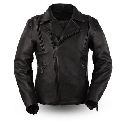 The Night Rider Leather Motorcycle Jacket | The Alley