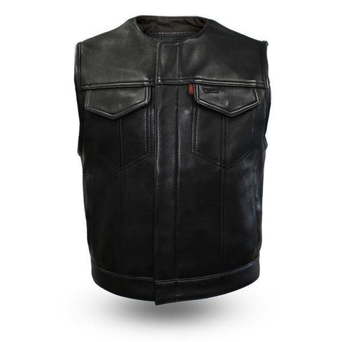 Lowside Club Style Premium Leather Vest