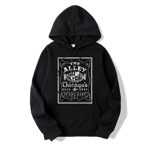 Rock Shop Whiskey Logo Pull Over Hoodie