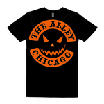 jack o lantern alley logo tshirt and mask pack