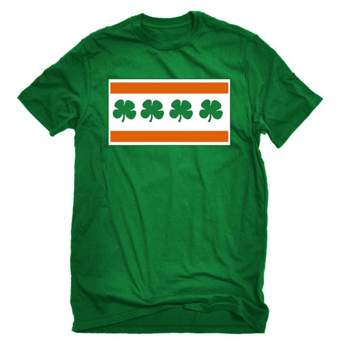 Irish Chicago Flag Tshirt