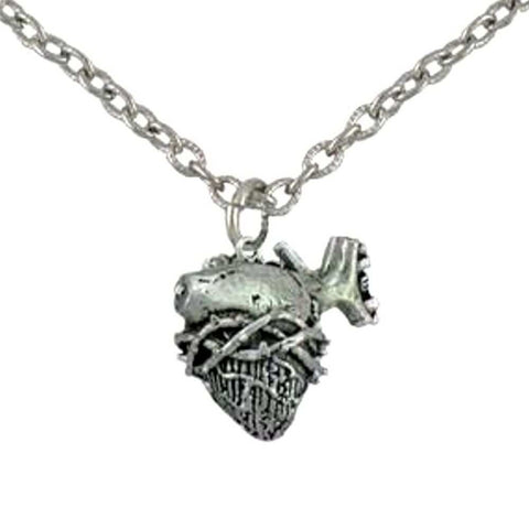 Anatomical Heart Necklace | The Alley