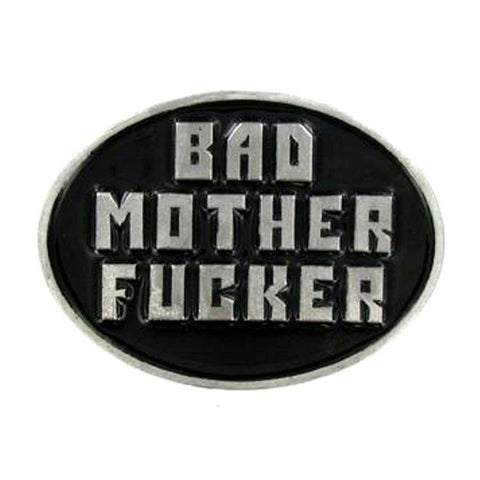 Bad Motherfucker Belt Buckle
