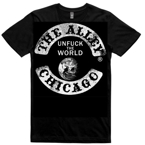 Un Fuck The World Alley Logo Tshirt