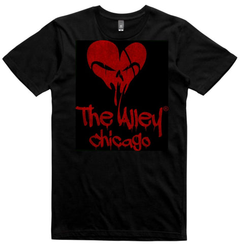 The Alley Heart Skull Tshirt