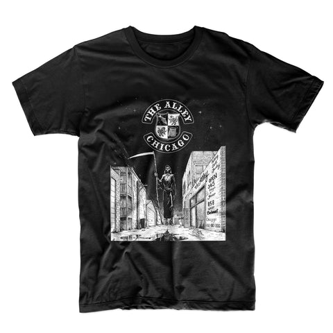 The Alley Chicago Original Reaper Tshirt