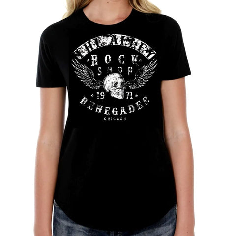 The Alley Rock Shop Renegades Womens Tshirt