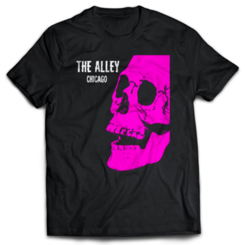 The Alley Pink Horror Skull Tshirt