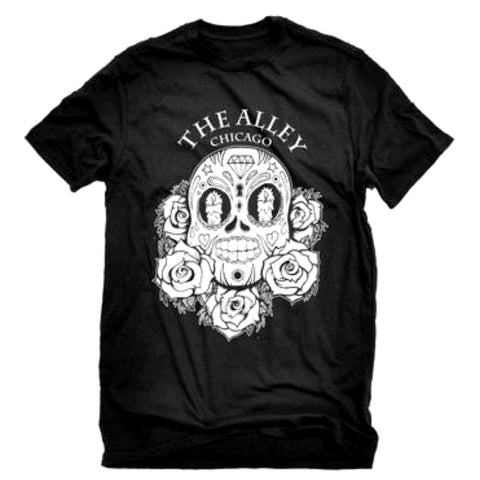The Alley Sugar Skull Tshirt