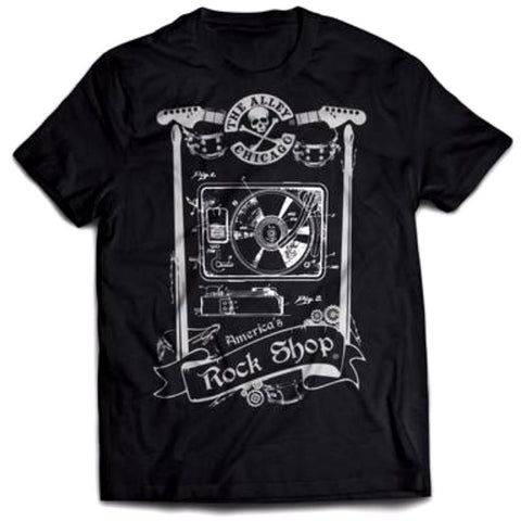 Turntable Blueprint Tshirt